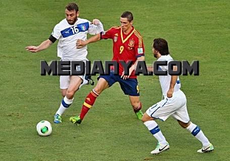 Spanyol VS Italia 2013