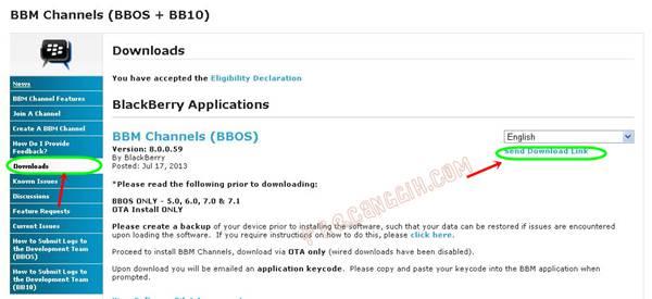 Link Download BBM 8