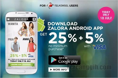 Aplikasi Android Zalora 2013