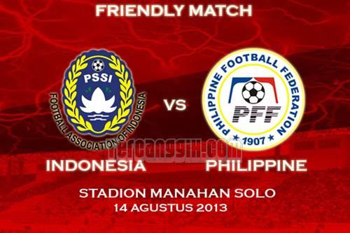 Indonesia VS Filipina 2013