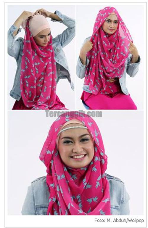 Tutorial Hijab 2013