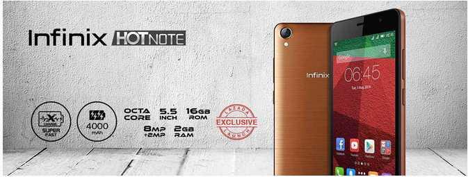 Infinix Hot Note