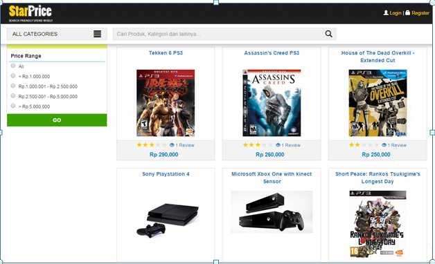 starprice harga konsol game