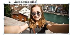 Selfie Senyum