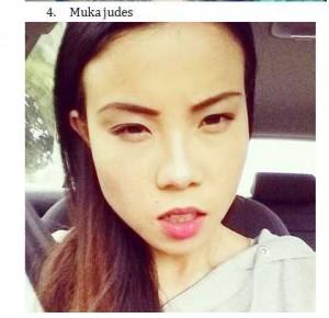 4 Selfie Muka Judes