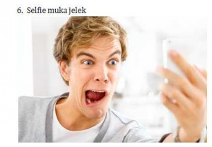 6 Selfie Muka Jelek