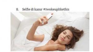 8.Selfie Dikasur