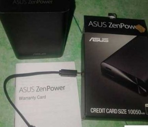 Kotak Power Bank Asus Zenpower Hitam