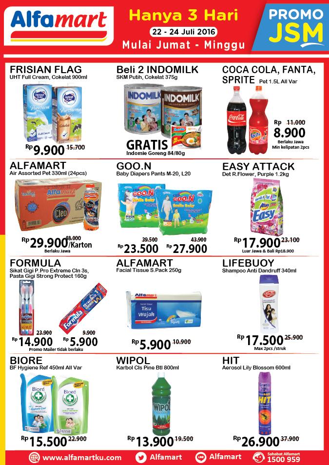Katalog Harga Promo Alfamart 2016 Terbaru