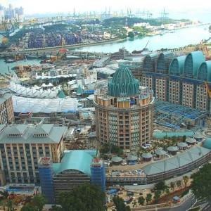 Reklamasi Sentosa Island Singapura