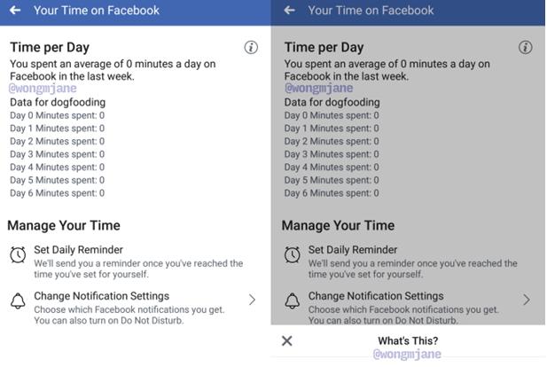 Fitur Waktu Facebook
