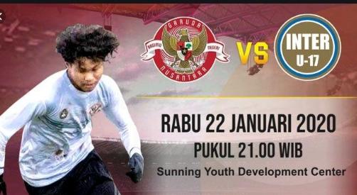 Streaming Inter Milan VS Garuda Select Indonesia