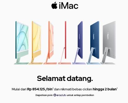 Jual iMac 2021 Murah dan 100% Asli